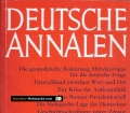 Deutsche Annalen 1983. Jahrbuch des Nationalgeschehens. Von Gert Sudholt (1983).