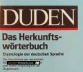 Das Herkunftswörterbuch. Von Günther Drosdowski (1989)