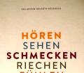 Hören, Sehen, Schmecken, Riechen, Fühlen. Von Neuroth (2017).