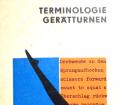 Terminologie Gerätturnen. Von Sportverlag Berlin (1972).