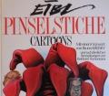 PINSELSTRICHE  Cartoons  von Erich Eibl (1988) Vorwort von Bruno Kreisky