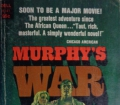 MURPHY´S WAR from Max Catto (1968) Adventure Novel