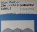 DIE PROTESTANTISCHE ETHIK 1 v. Max Weber eine Aufsatzsammlung. Religion