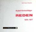 Rudolf Kirchschläger. Reden. 1974-1977. Von Karl Heinz Ritschel (1978)