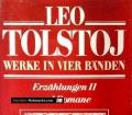 Leo Tolstoj. Werke in vier Bänden. Erzählungen II und Romane (1979)