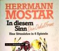 In diesem Sinn. Dein Onkel Franz. Von Hermann Mostar (1991)