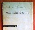 Vom deutschen Wesen. Von Adolf Seifert (1935)