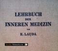 Lehrbuch der inneren Medizin. Band 1. Von Ernst Lauda (1949)