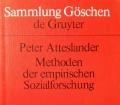 Methoden der empirischen Sozialforschung. Von Peter Atteslander (1995)