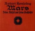 Mars. Von Robert Henseling (1925)