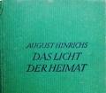Das Licht der Heimat. Von August Hinrichs (1920)