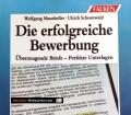 Die erfolgreiche Bewerbung. Von Wolfgang Manekeller (1993)