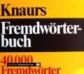 Knaurs Fremdwörterbuch. Von Ursula Hermann (1982)