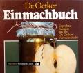 Einmachbuch. Von Dr. Oetker