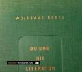 Du und die Literatur. Von Wolfgang Goetz (1952)