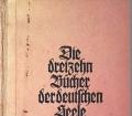 Die dreizehn Bücher der deutschen Seele. Von Wilhelm Schäfer (1943)